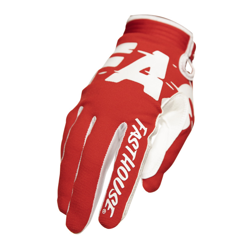FASTHOUSE GLOVES SPEEDSTYLE TURBO RED