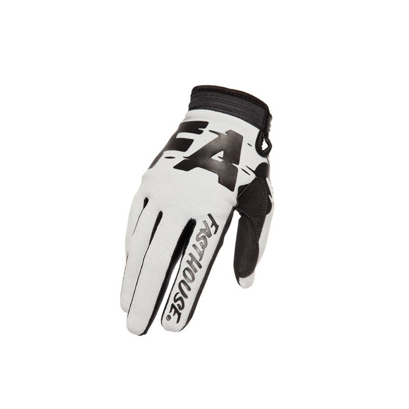 FASTHOUSE GLOVES SPEEDSTYLE TURBO SILVER