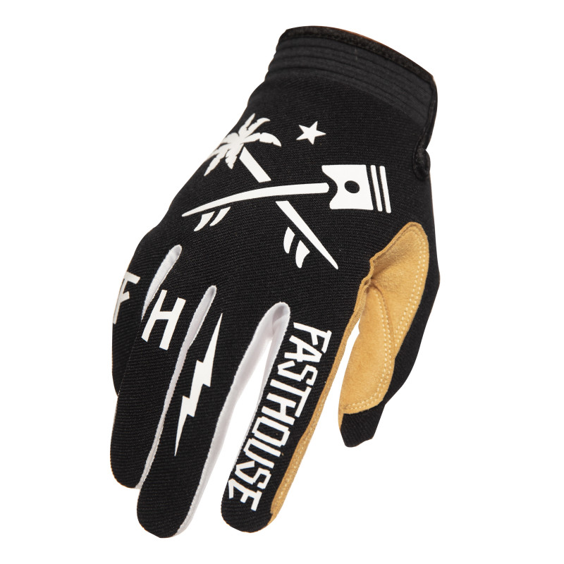 FASTHOUSE GLOVES SPEEDSTYLE HAWK BLACK