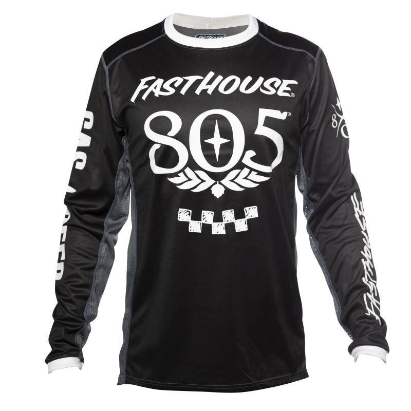 FASTHOUSE JERSEY 805 SEND IT BLACK