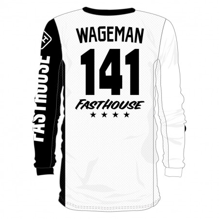 FASTHOUSE Flocage Maillot Personnalisé DOG BONE SOLID