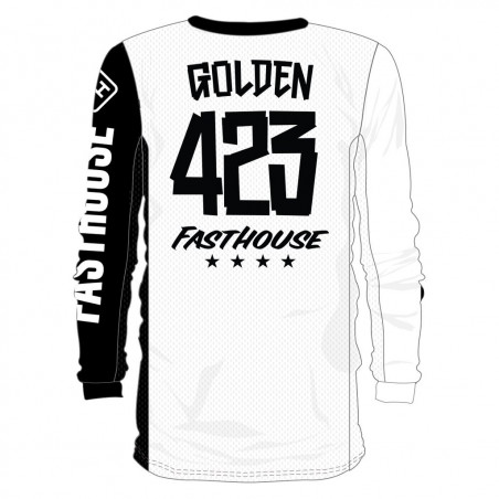 FASTHOUSE Flocage Maillot Personnalisé MASKED 2.0
