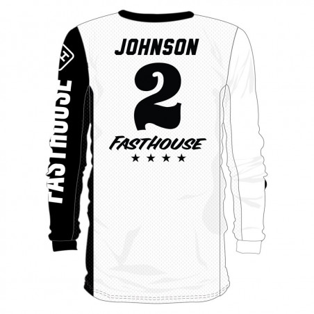FASTHOUSE Flocage Maillot Personnalisé OG SOLID