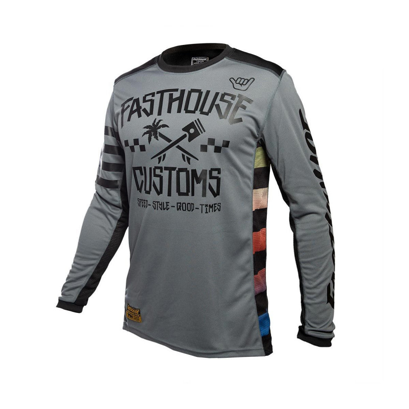 FASTHOUSE JERSEY HAWK GREY YOUTH