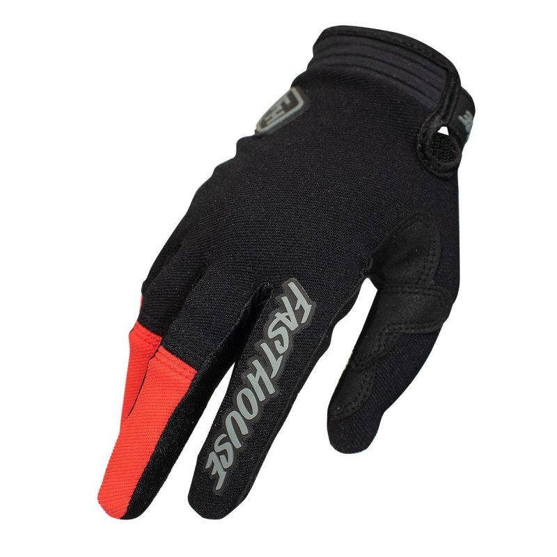 FASTHOUSE GLOVES SPEEDSTYLE RIDGELINE BLACK RED