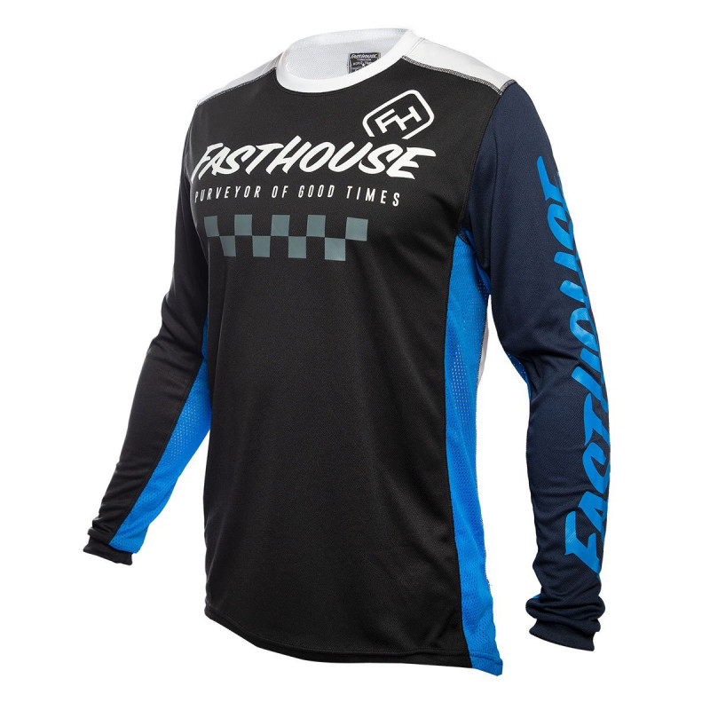 FASTHOUSE JERSEY RALLY BLACK BLUE