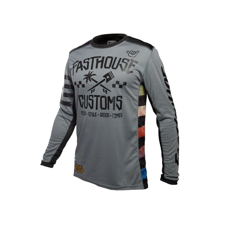 FASTHOUSE JERSEY HAWK GREY