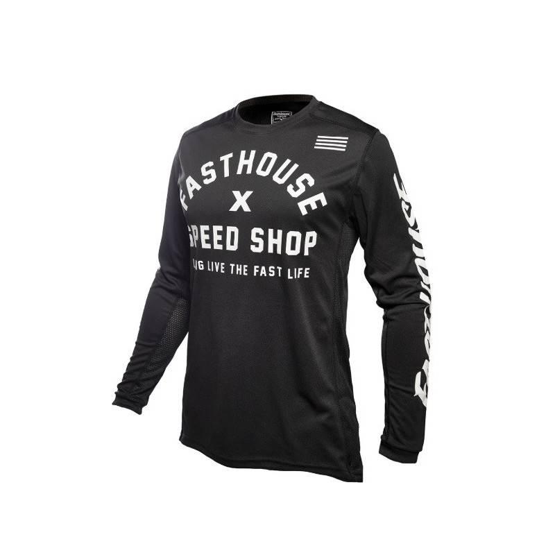 FASTHOUSE JERSEY HERITAGE BLACK