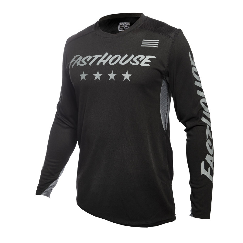 FASTHOUSE JERSEY RAVEN ELEMENT BLACK GREY