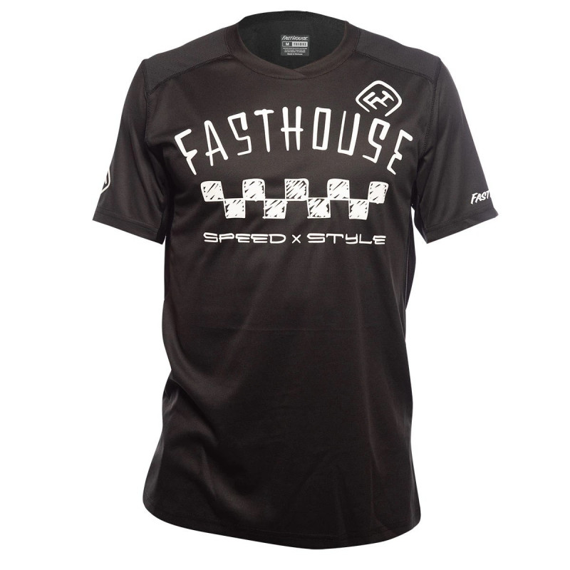 FASTHOUSE BIKE JERSEY ALLOY NELSON SHORT SLEEVE BLACK
