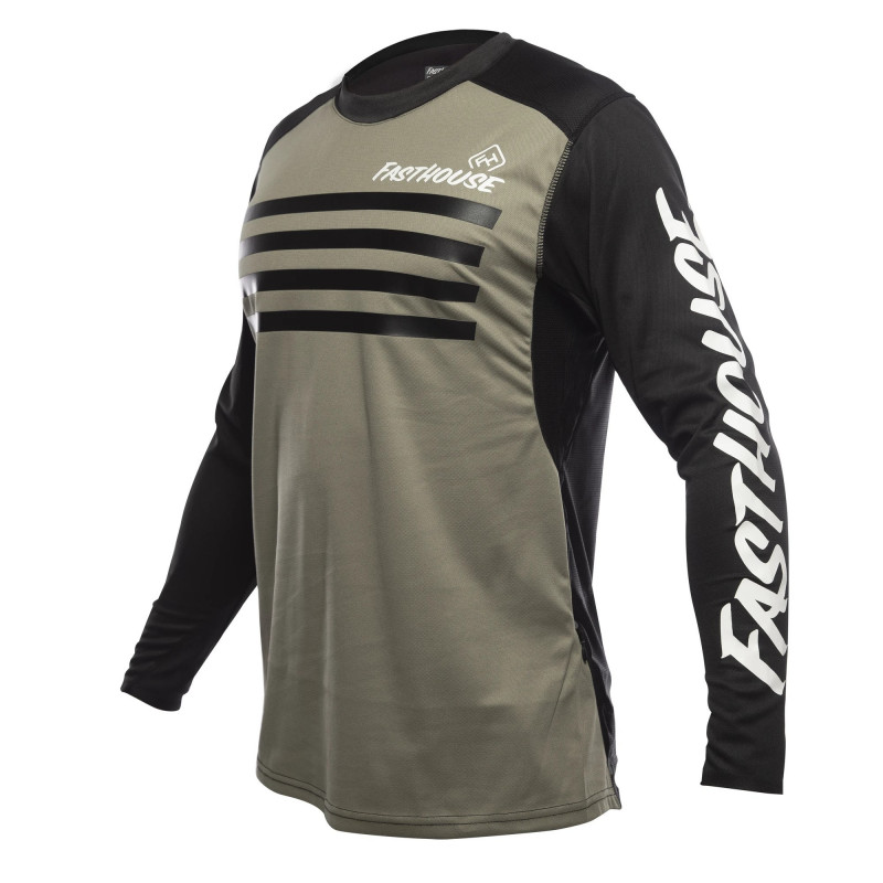 FASTHOUSE BIKE JERSEY ALLOY STRIPE MOSS