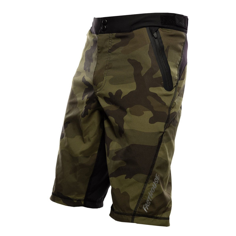 FASTHOUSE BIKE SHORT CROSSLINE 2 CAMO