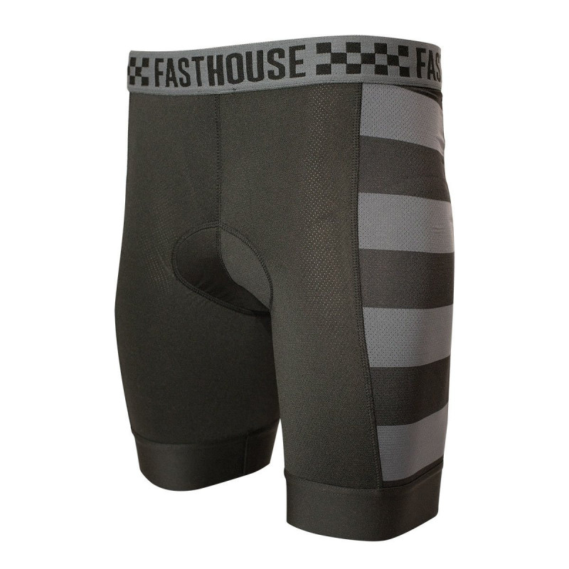 FASTHOUSE BIKE LINER CHAMOIS BLACK GREY