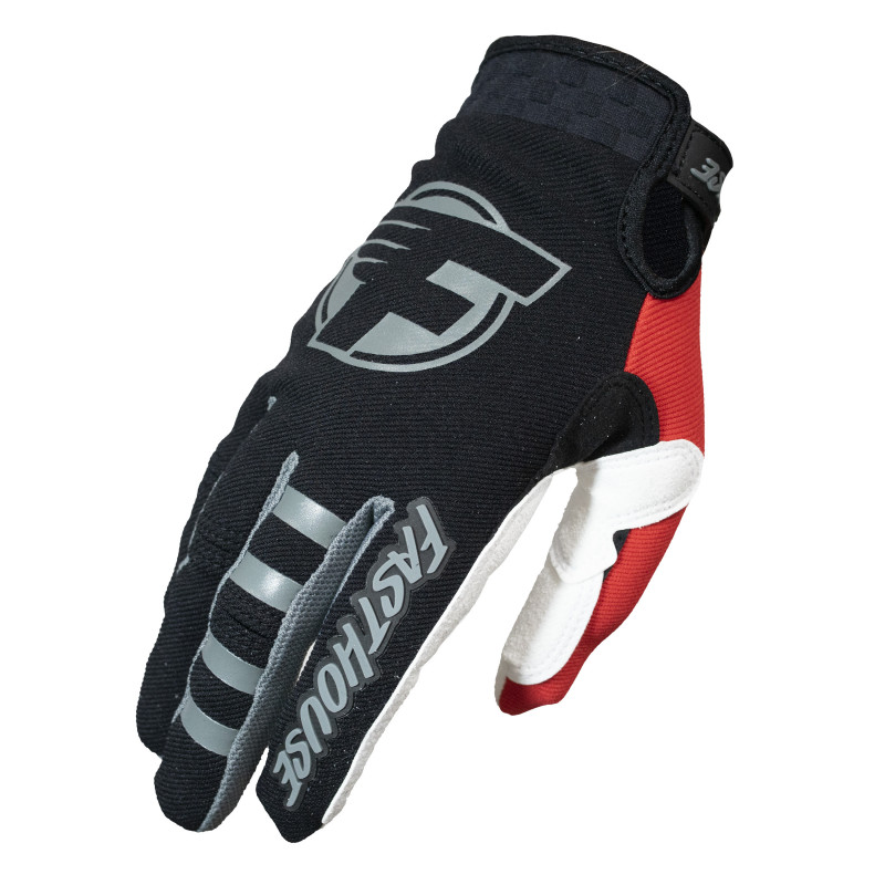 FASTHOUSE GLOVES HOWLER BLACK/RED