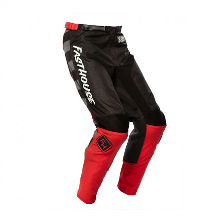 FASTHOUSE YOUTH PANTS GRINDHOUSE 2.0 BLACK/RED