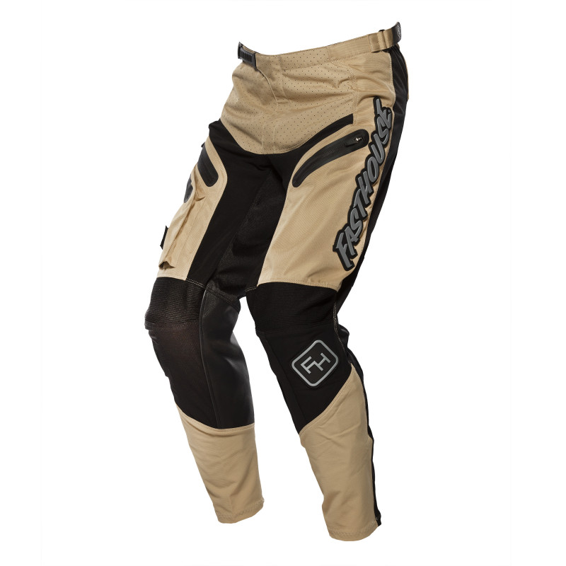 FASTHOUSE PANTS GRINDHOUSE OFF-ROAD 2.0 KHAKI/BLACK