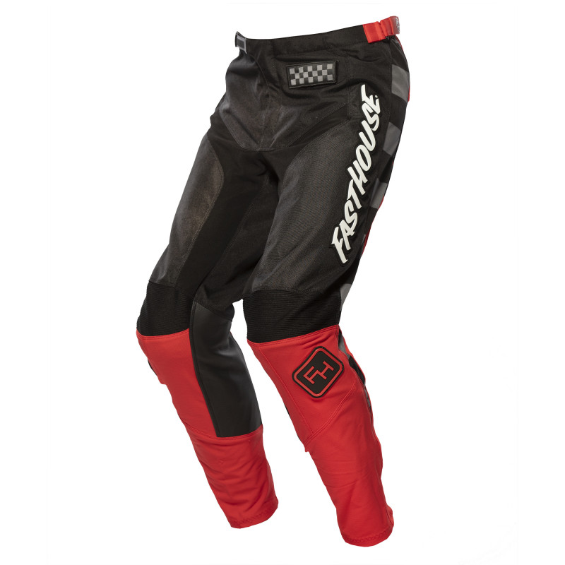 FASTHOUSE PANTS GRINDHOUSE 2.0 BLACK/RED