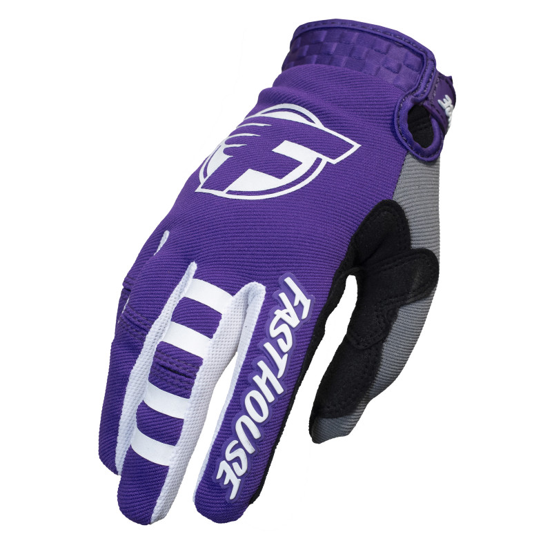 FASTHOUSE GLOVES HOWLER PURPLE/CHARCOAL