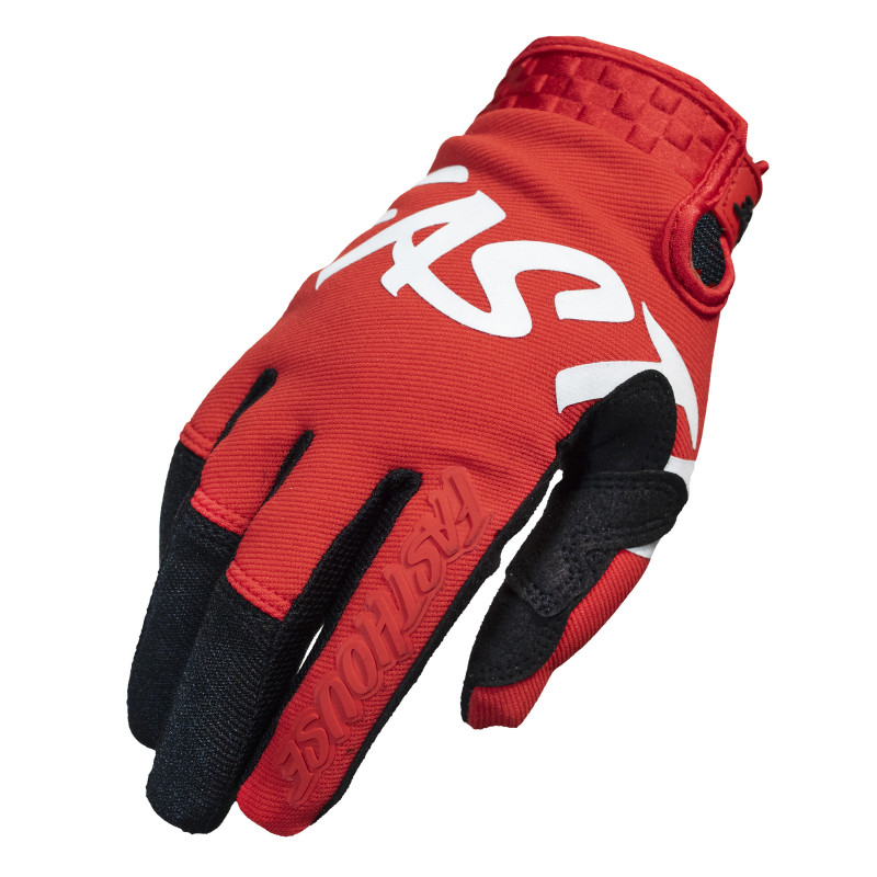 FASTHOUSE GLOVES SECTOR RED/BLACK
