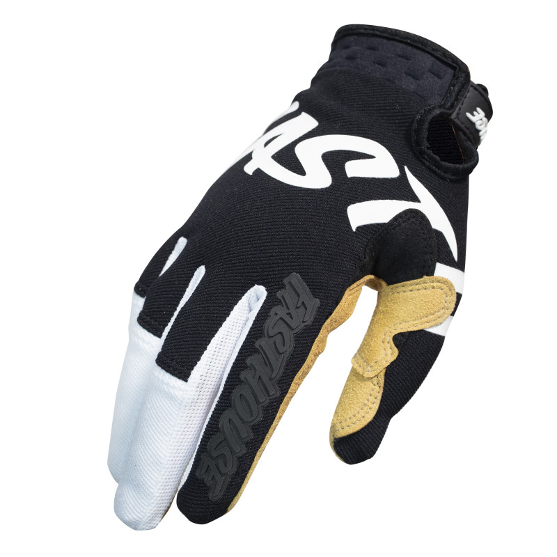 FASTHOUSE GLOVES SECTOR BLACK/WHITE