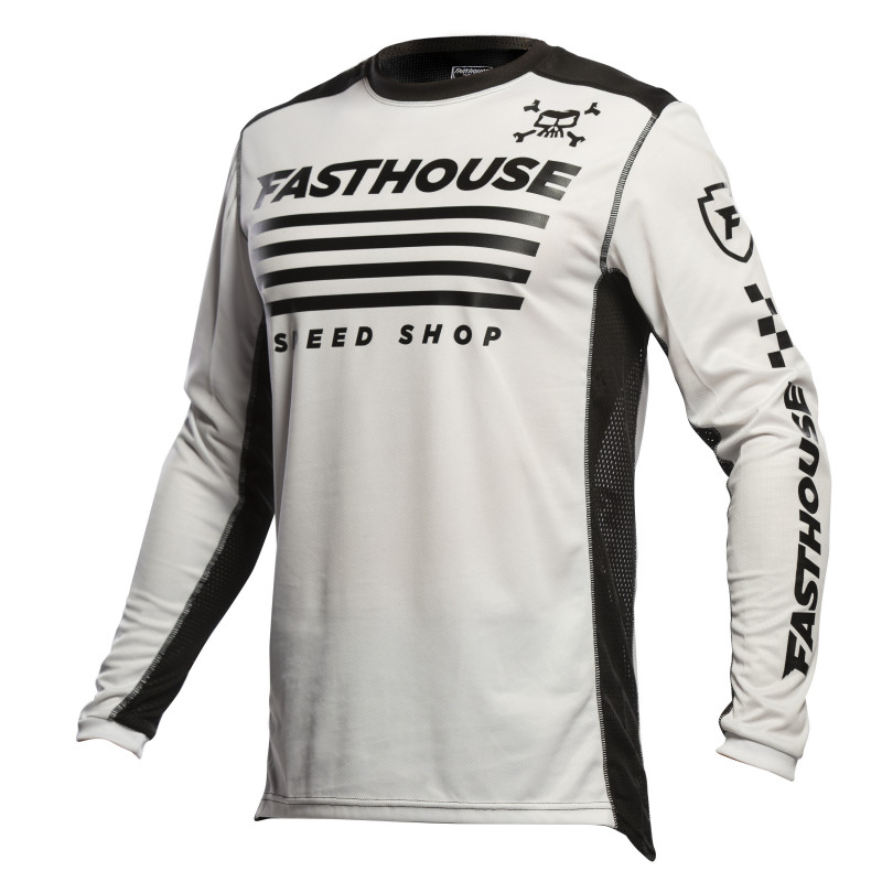 FASTHOUSE JERSEY GRINDHOUSE HALT WHITE/BLACK