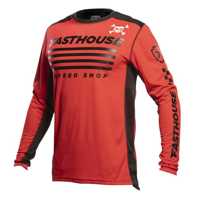 FASTHOUSE JERSEY GRINDHOUSE HALT RED/BLACK