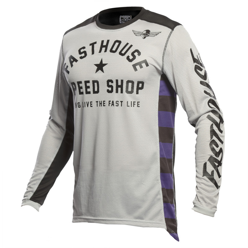 FASTHOUSE JERSEY ORIGINALS AIR COOLED SILVER/BLACK