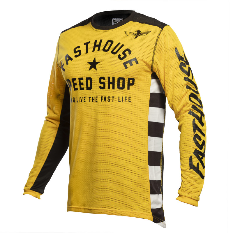 FASTHOUSE JERSEY ORIGINALS AIR COOLED GOLD/BLACK