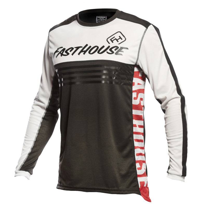 FASTHOUSE JERSEY GRINDHOUSE SPLIT BLACK/WHITE