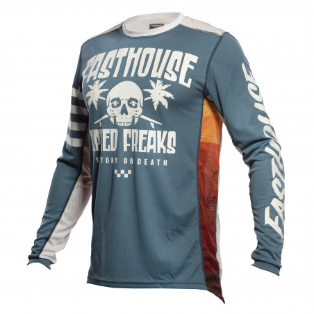 FASTHOUSE JERSEY GRINDHOUSE SWELL SLATE/WHITE