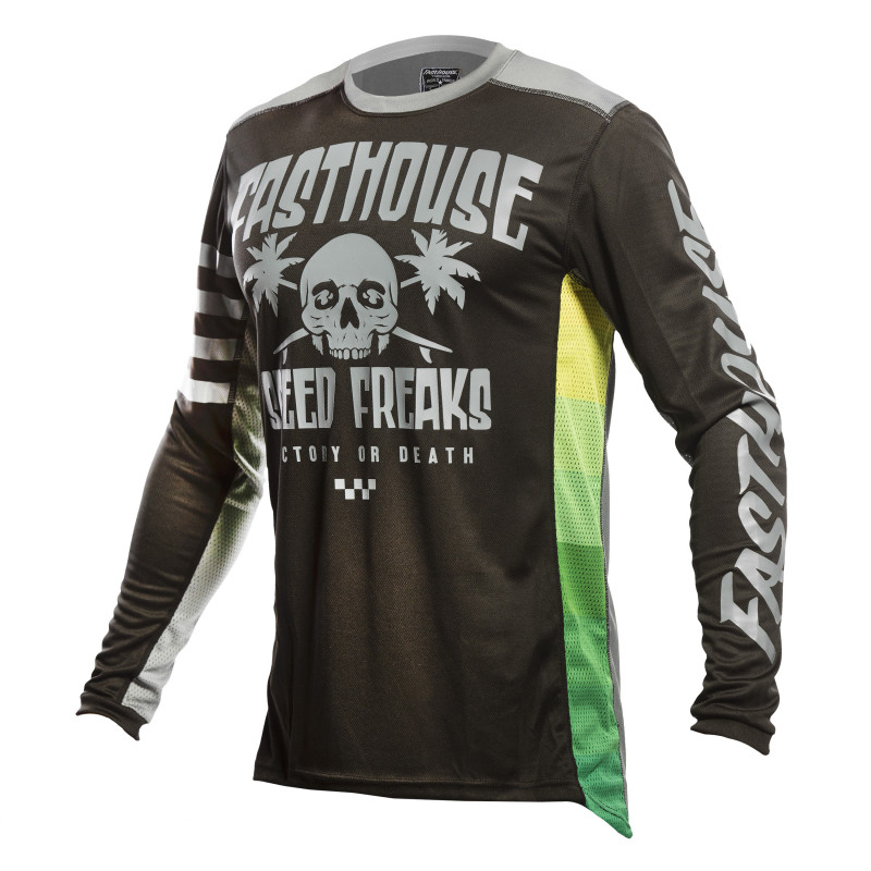 FASTHOUSE JERSEY GRINDHOUSE SWELL BLACK/CHARCOAL