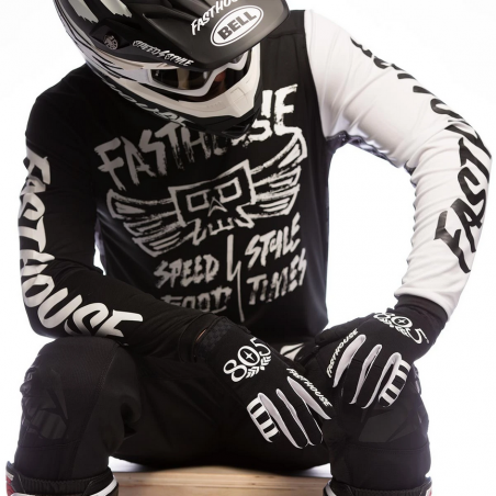 FASTHOUSE JERSEY GRINDHOUSE TRIBE BLACK